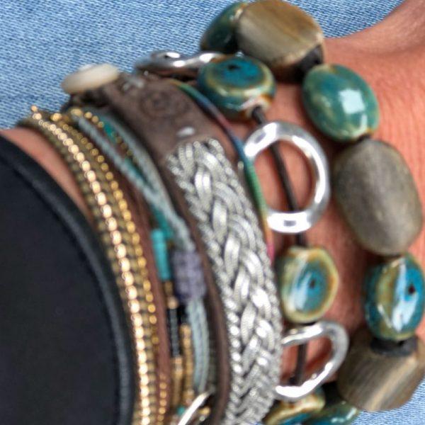 Armband Bretagne Marron