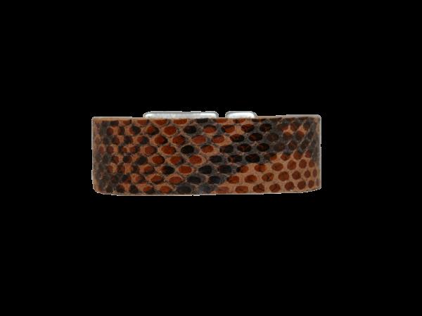 Armband Python Brown