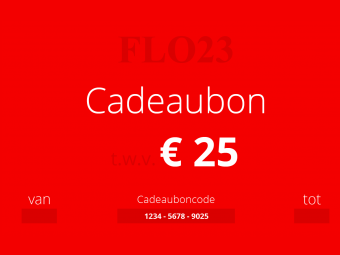 Flo23-cadeaubon-giftcard-25-collectie-collection