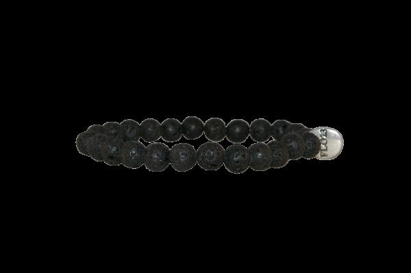 Armband Lava stenen
