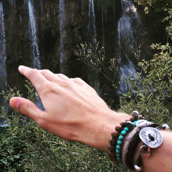 Armband (half)edelstenen