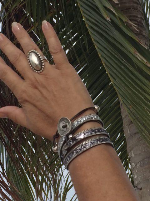 Armband Glitters Nero